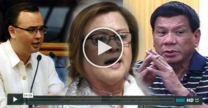 WATCH: Cayetano Blames De Lima, CHR for International Outcry vs Duterte