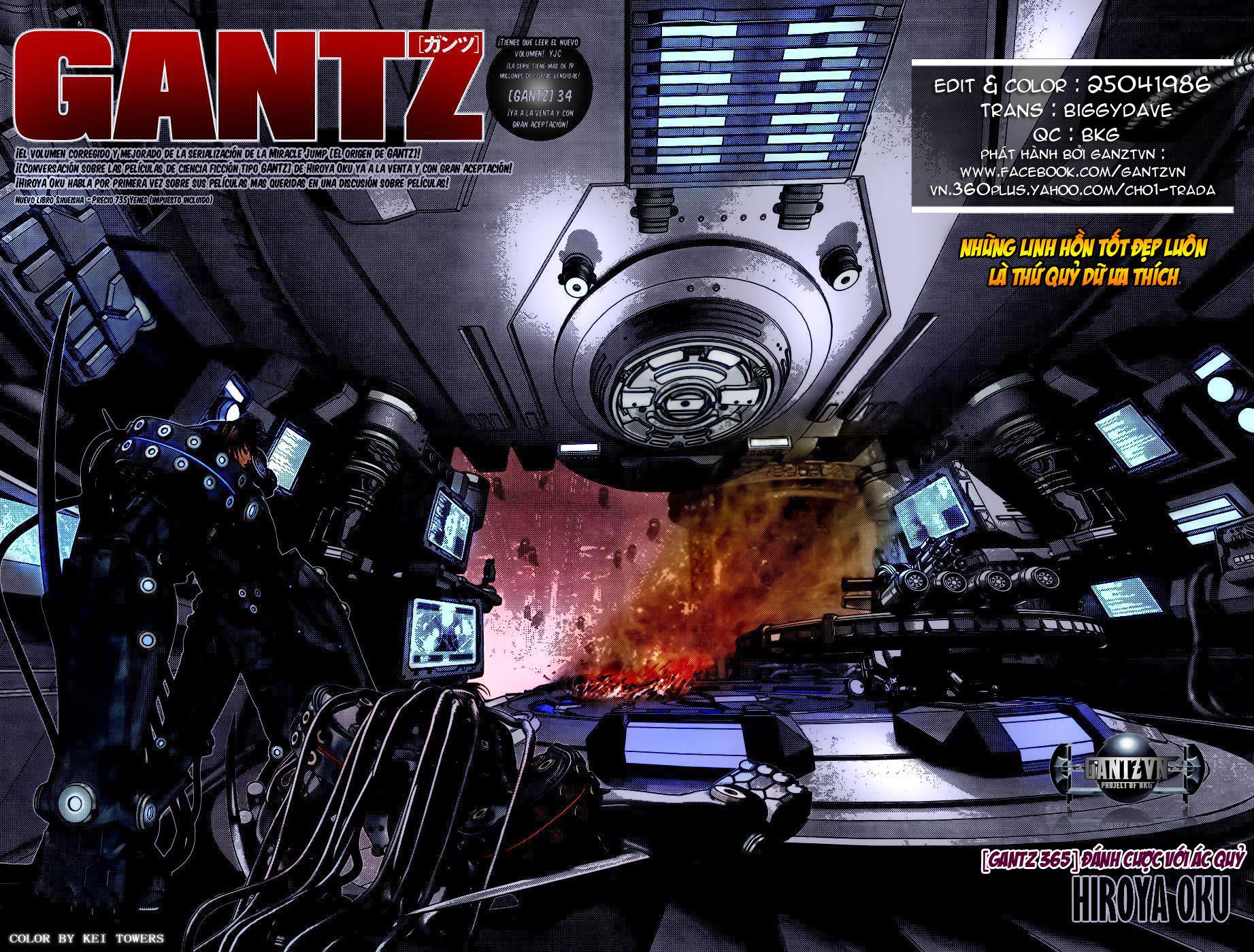 Gantz chap 365 trang 3