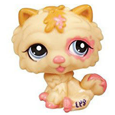 Littlest Pet Shop 3-pack Scenery Chow Chow (#2304) Pet