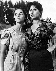 Marisa Pavan (left) with Anna  Magnani in The Rose Tattoo