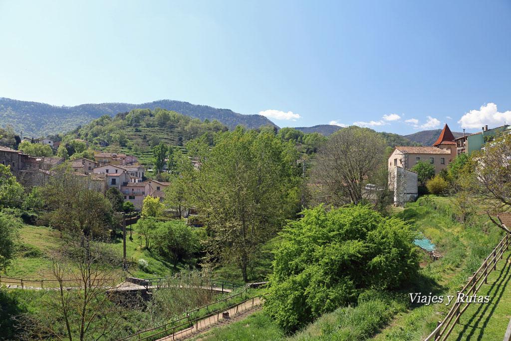 Vistas de Sant Pau desde el Parking