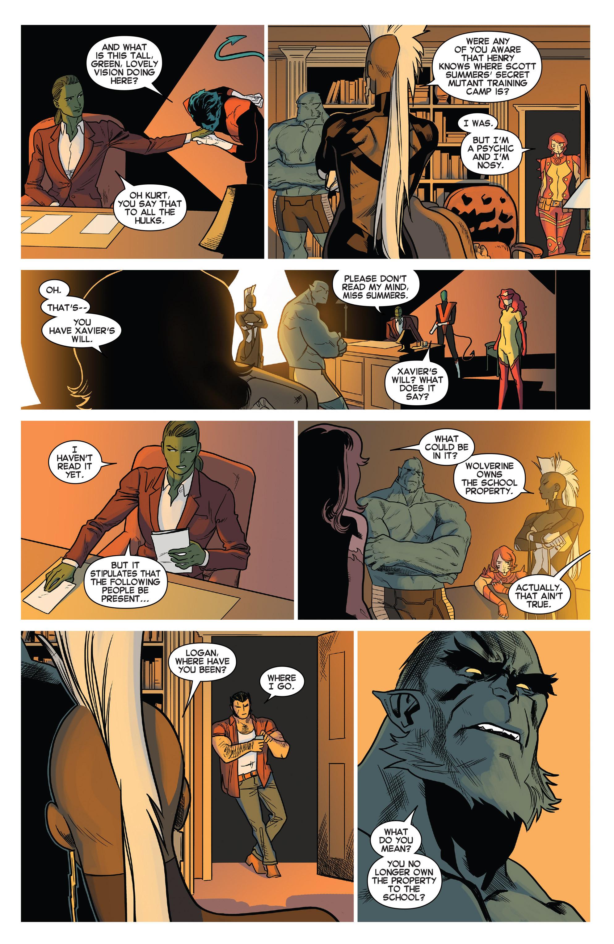 Read online Uncanny X-Men (2013) comic -  Issue #24 - 5