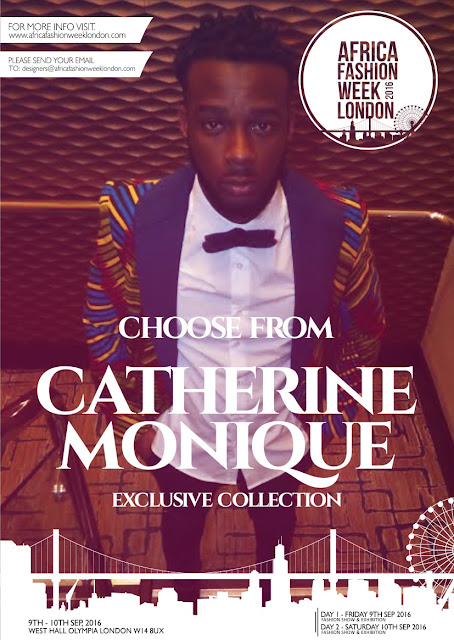 Catherine-Moniue to showcase at Africa Fashion Week 2016