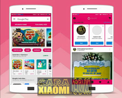 Download Tema Xiaomi Show Mi Pink For MIUI Update New Version