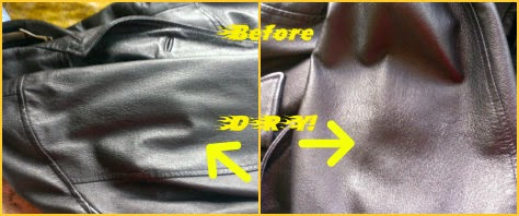 Leather Nova Cleaner & Conditioner All in 1 before collage