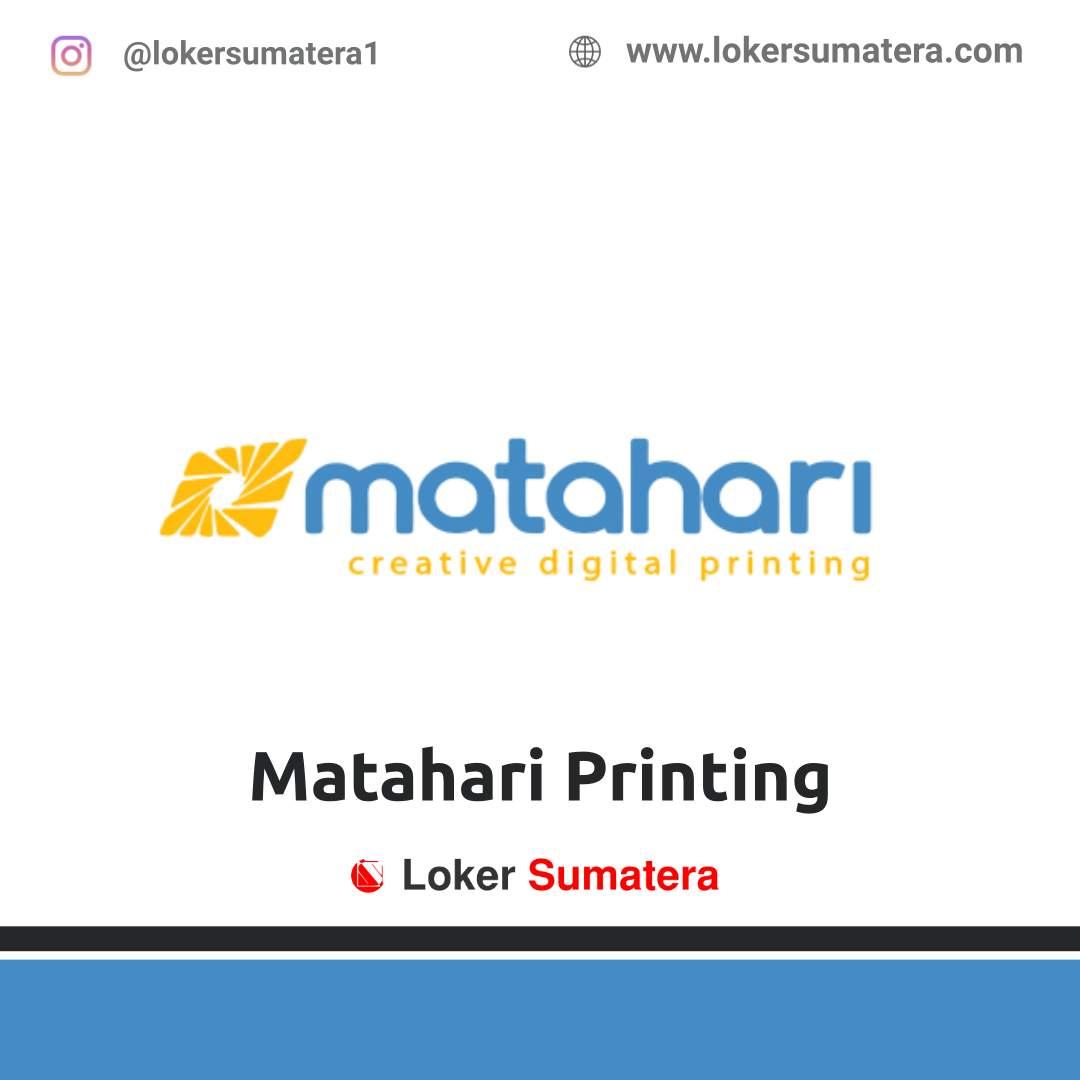 Matahari Printing Pekanbaru