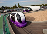 Ultra pods at Heathrow Airport