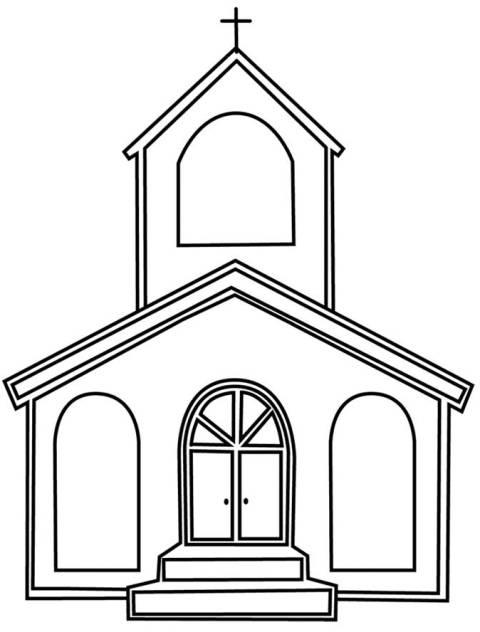 Igreja Desenhos Para Colorir Desenhos Para Colorir