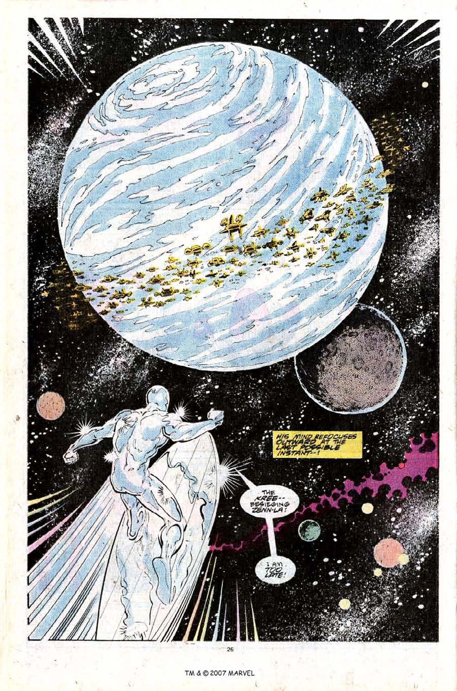 Read online Silver Surfer (1987) comic -  Issue #25 - 28