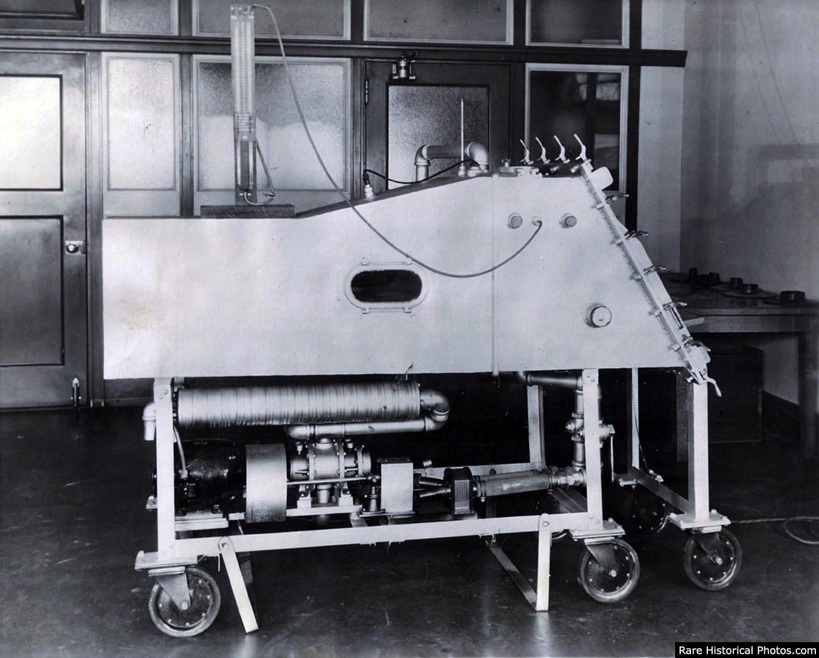 Drinker Respirator, 1930.