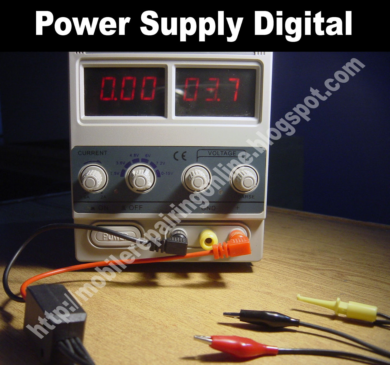 DC Power Supply for Cellphone Repairing