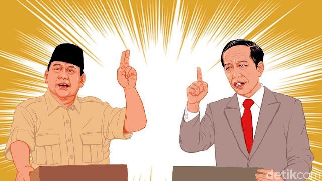 Jelang Debat IV, Begini Beda Visi Misi Ideologi Jokowi vs Prabowo