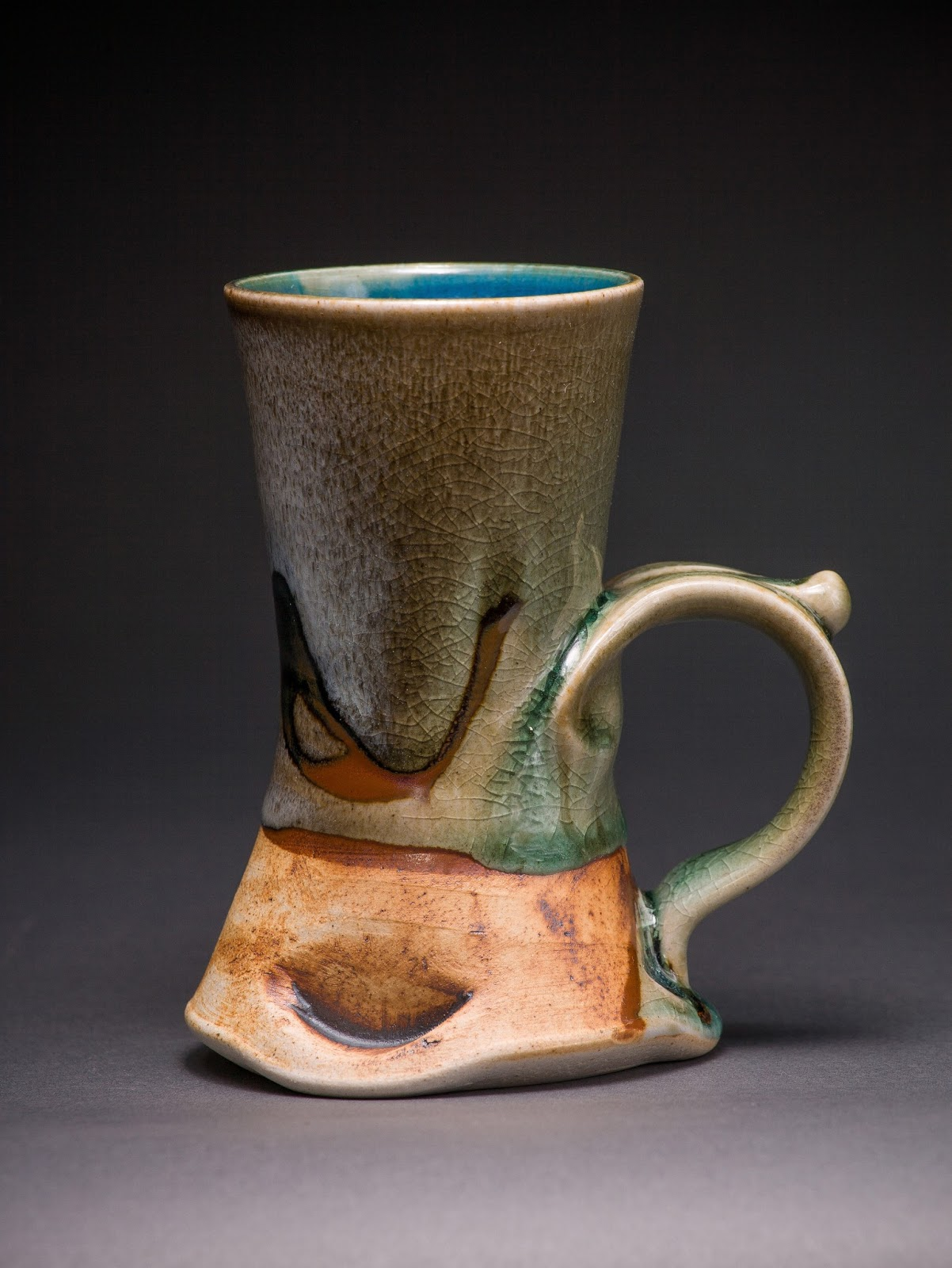 Don Hanson Pottery Coffee Cups