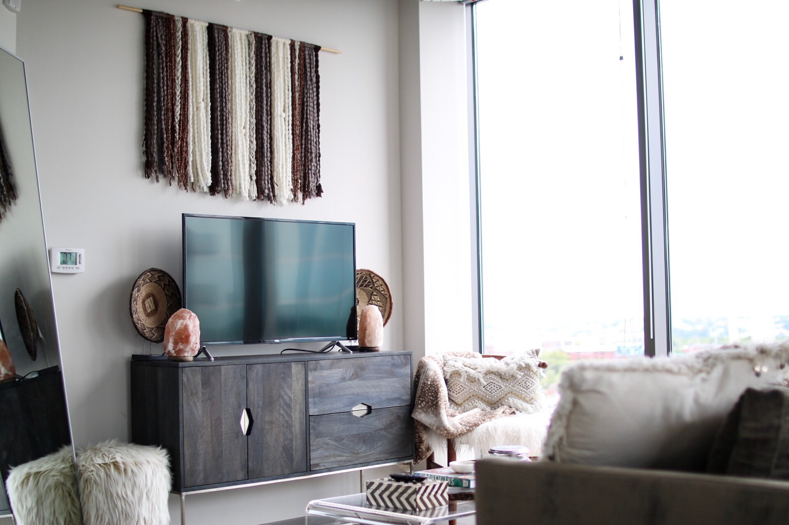My Apartment Living Room Tour - Sarah Belle Elizabeth