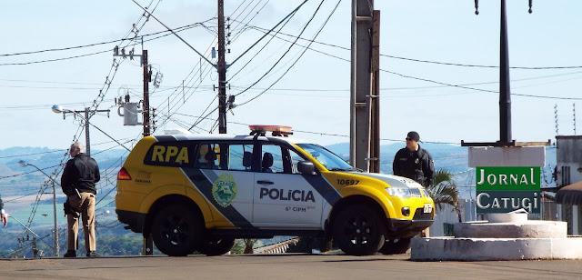 Borrazópolis-Mulher é agredida pelo pai que é detido pela PM