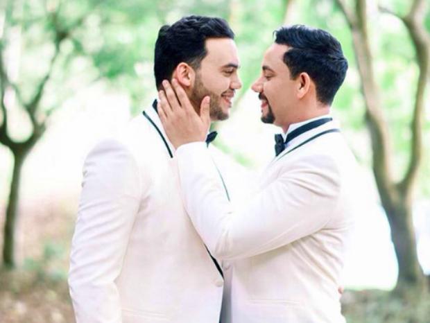 Jhonaly Guzmán y Ángel Trifolio