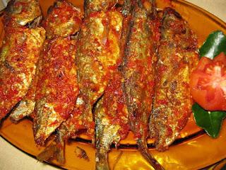 ikan kembung bumbu balado