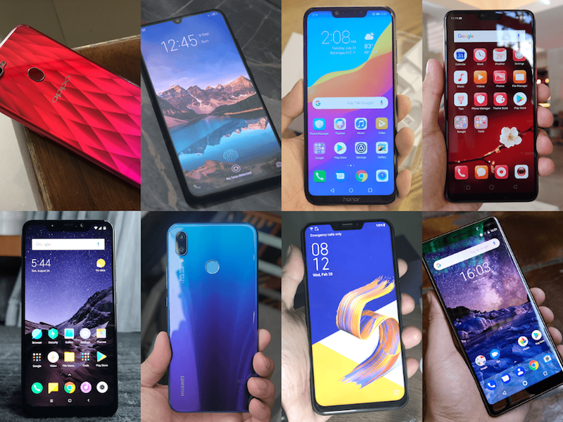 List of the best mid-range smartphones under PHP 22K in the Philippines (Q3 2018)