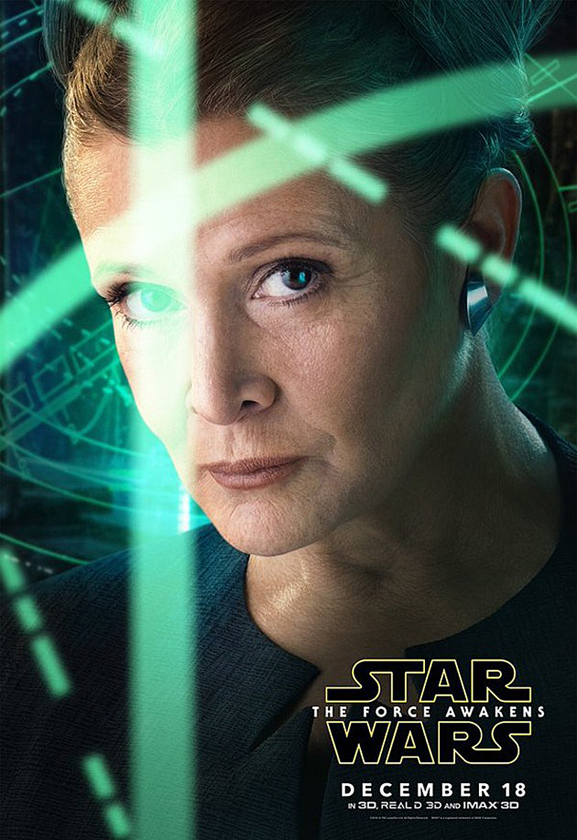 Poster Star Wars The Force Awakens: Leia