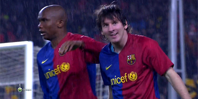 UEFA-8 : Barcelona 4 vs 0 Bayern Munich 08-04-2009