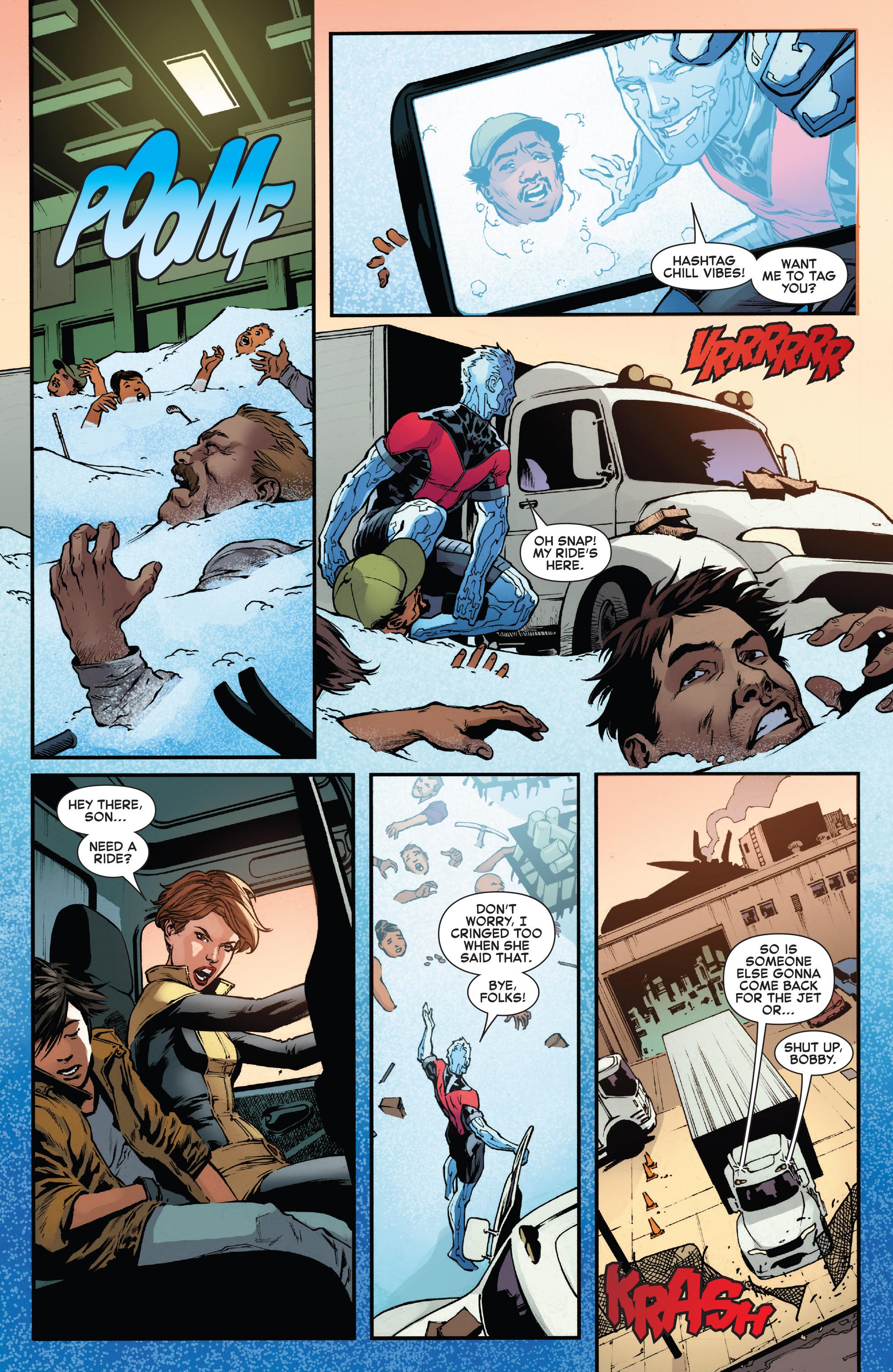 Read online Iceman (2017) comic -  Issue #2 - 20