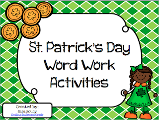 Classroom Freebies Too St Patricks Day Word Work Activities