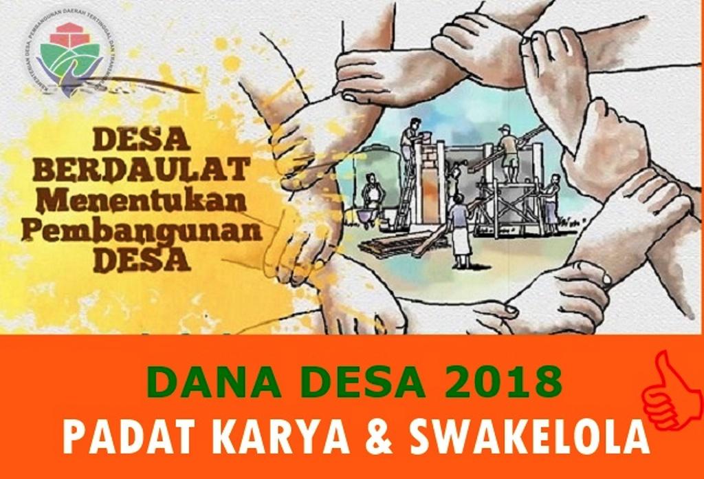 Pengelolaan Pencairan #DanaDesa di 2018