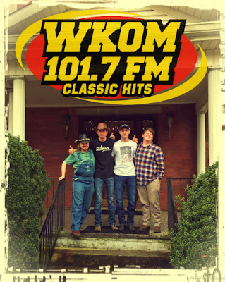 The Wentzel Brothers Band at WKOM Radio 101.7 FM