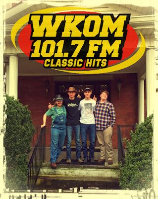 The Wentzel Brothers Band at WKOM Radio 101.7 FM
