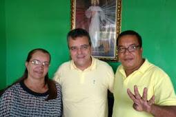 Divina Pastora: Luciano Pimentel, PSB, participa do lançamento da pré-candidatura de Cabelinho