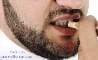 Tips Menghindari segala penyakit hanya Dengan Bersiwak