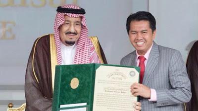 Urang Awak Terima Anugerah Tertinggi Raja Salman