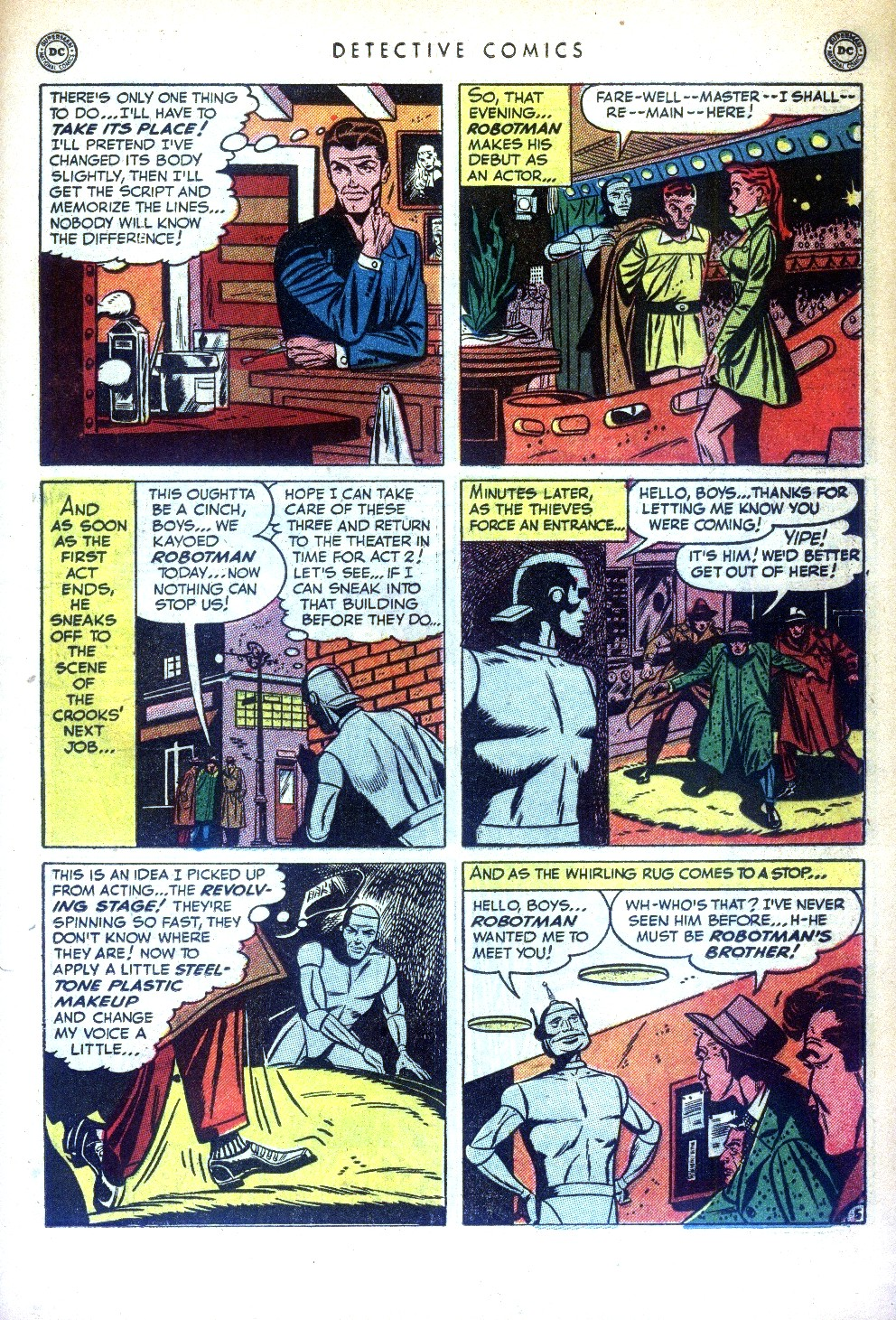 Read online Detective Comics (1937) comic -  Issue #169 - 35