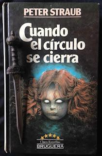 Portada del libro Cuando el círculo se cierra, de Peter Straub