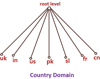 what is country domain in hindi