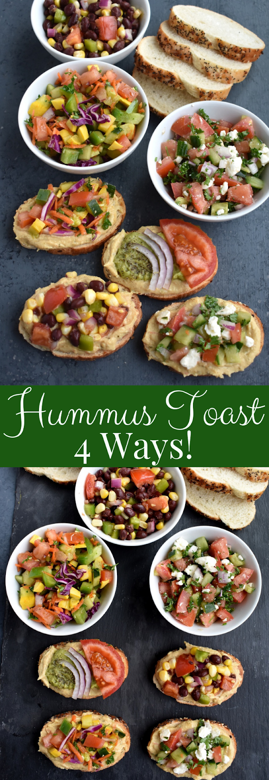 Hummus Toast recipes