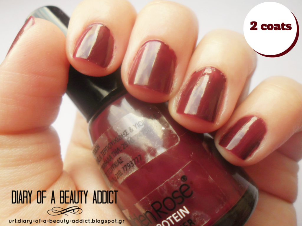 Golden Rose with Protein Nail Lacquer - No337