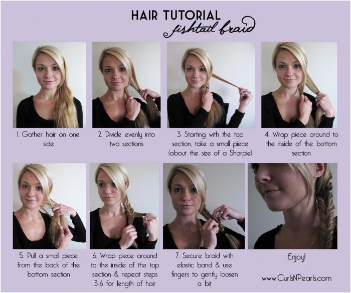 fishbone braid instructions - photo #18