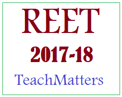 image : REET-2017 : REET Exam February 2018 @ TeachMatters