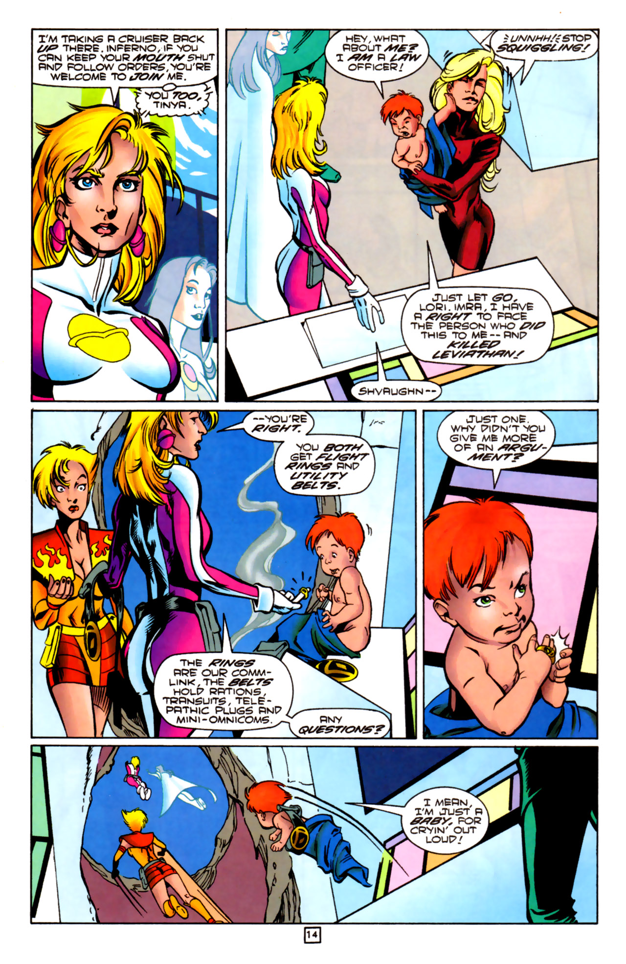 Legion of Super-Heroes (1989) 84 Page 12