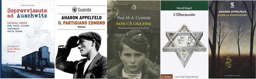 5 libri sull'olocausto