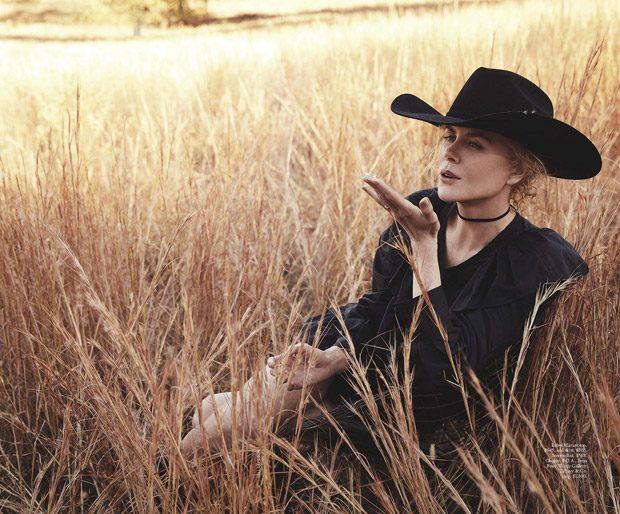 Nicole Kidman : VOGUE Australia - January 2017