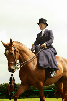 Myself Side Saddle (Aside) on Lexie