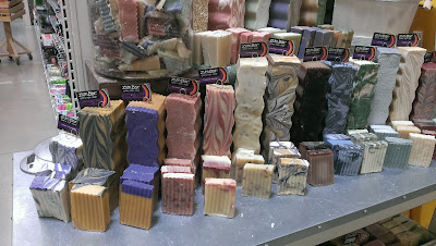 Natural soaps at Market District