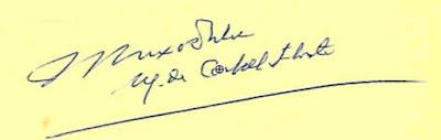 Firma de Joaquim Buxó de Abaigar, marqués de Castell-Florite