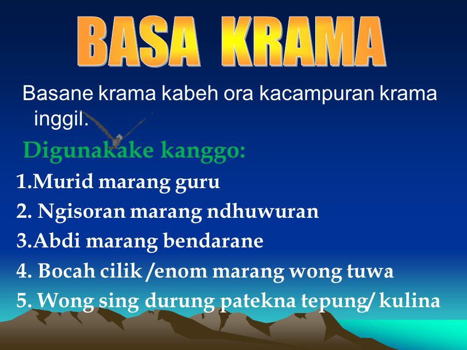 Translate Bahasa Indonesia Ke Krama Inggil Arial Viral