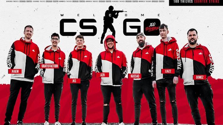 100 Thieves hoàn tất mua lại đội hình CS:GO của Renegades