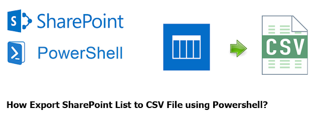 Export SharePoint List to CSV using PowerShell