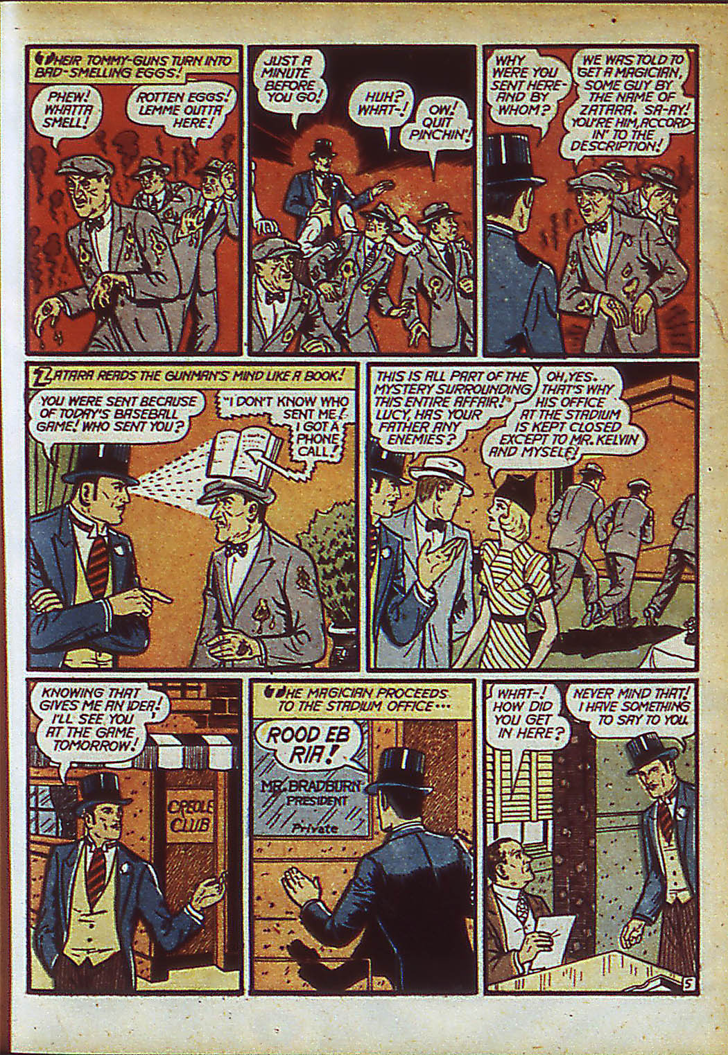 Read online Action Comics (1938) comic -  Issue #37 - 61