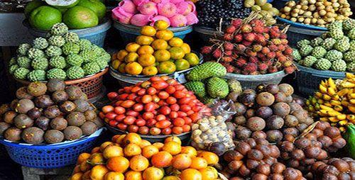 Pasar Tradisional Buah dan Sayuran Candikuning Bedugul Bali